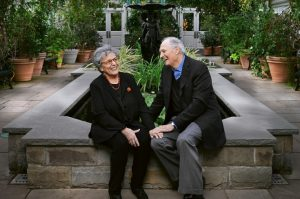 Alan Alda and his wife Arlene have been married for over six decades - thanks to rum cake