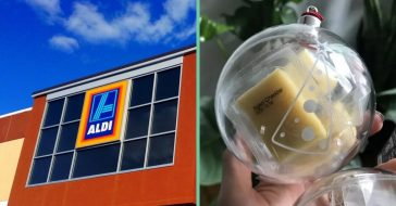 Aldi is releasing cheese filled ornaments for the holidays