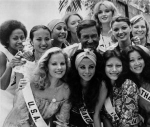 Barker hosted the Miss USA pageant for twenty years