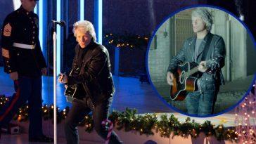 Bon Jovi Performs New Song _Unbroken_ For Veterans At Rockefeller Center Christmas Tree Lighting