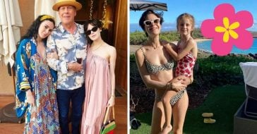 Bruce Willis took a vacation with his girls in Hawaii
