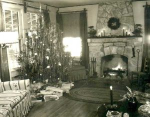 By the 1890s, people got a more solid feel for safely decorating their tree