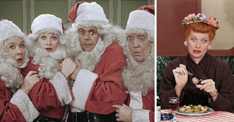 CBS will air the I Love Lucy Christmas special