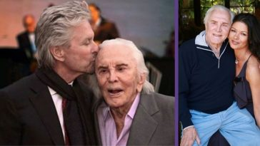 Catherine Zeta-Jones Posts Throwback Photo For Kirk Douglas' 103rd Birthday