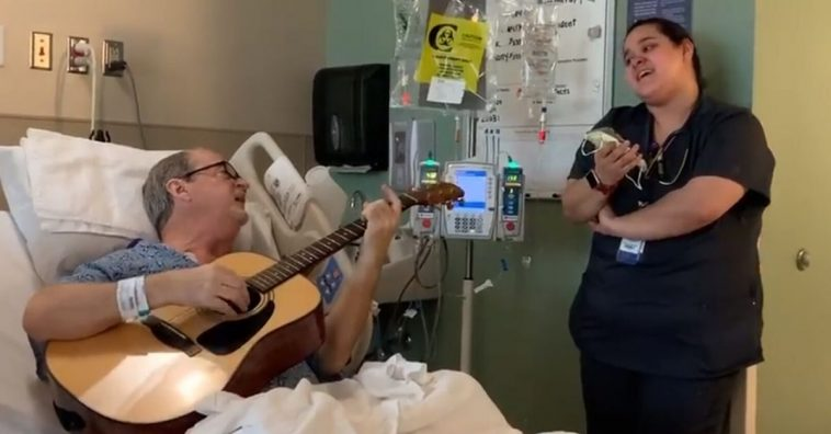 Chemo Patient And His Nurse Sing Stunning Rendition Of _O Holy Night_ Together