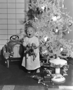 Christmas is a time for childish joy, after all