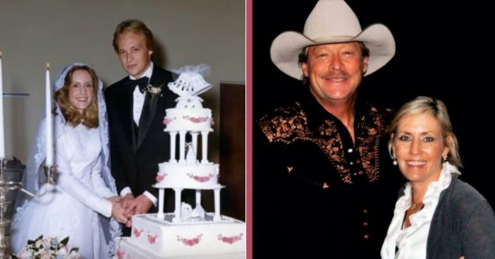 Country Singer Alan Jackson Celebrates 40 Years Of Marriage With Wife, Denise