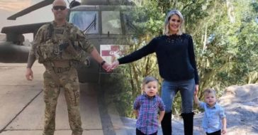 Creative Christmas Card Allows Military Family To Be Together During The Holidays