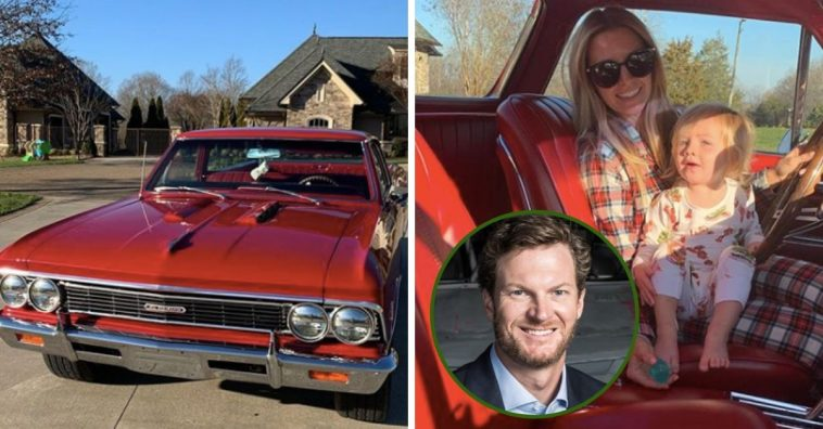 Dale Earnhardt Jr. Gifted His Wife A Vintage 1966 El Camino For Christmas This Year