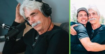 Dax Shepard and Sam Elliott from The Ranch reunited