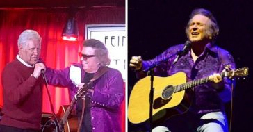 Don McLean performed at the Jeopardy Christmas party
