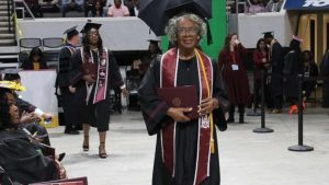 Donzella Washington didn't give up on her dream and doesn't want you to either