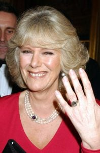 Duchess Camilla's ring was originally the Queen Mother's