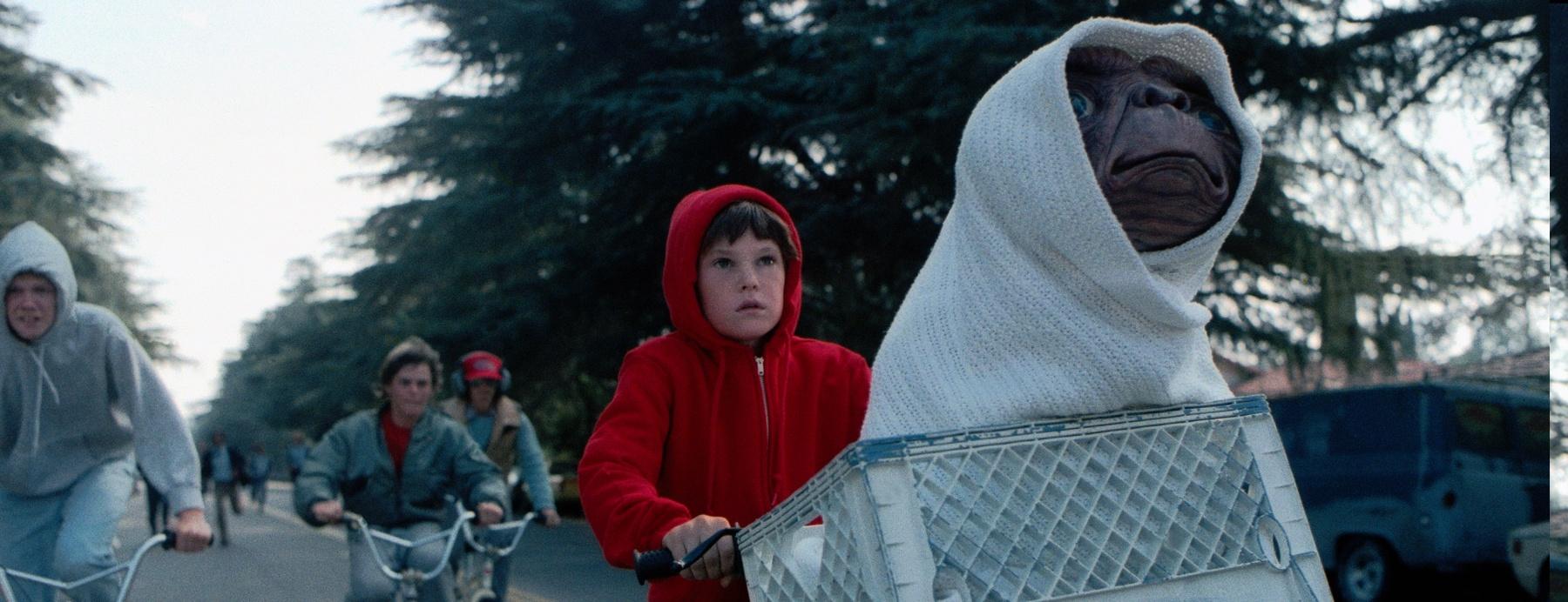 harrison ford had a cameo in E.T.