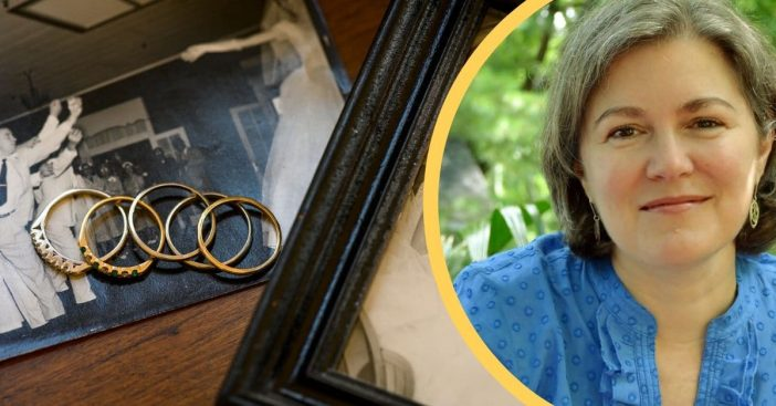 Each wedding ring gives this author the strength to be brave