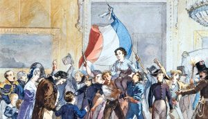 Eventually, hygiene became recognized as a human right, and so one of the things fought for in the French Revolution