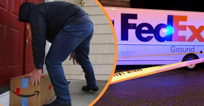 Fedex Driver Shoots And Kills Armed 'Porch Pirate' Trying To Steal Multiple Packages