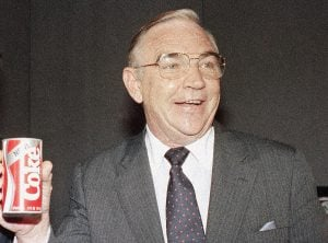 Former President of the Coka-Cola Company, Don Keough, helped Buffett change drinks