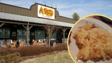 Get the recipe for Cracker Barrel hashbrown casserole
