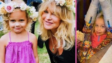 Goldie Hawn shares fun photo of lookalike granddaughter Rio