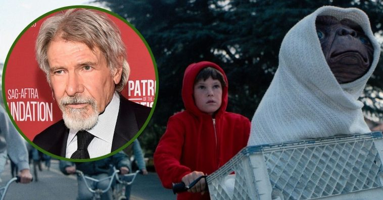 Harrison Ford's Cameo Was Cut From The 1982 Film 'E.T.'