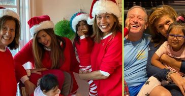 Hoda Kotb posts fun family photos on Christmas