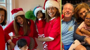Hoda Kotb posts fun family photos on Christmas