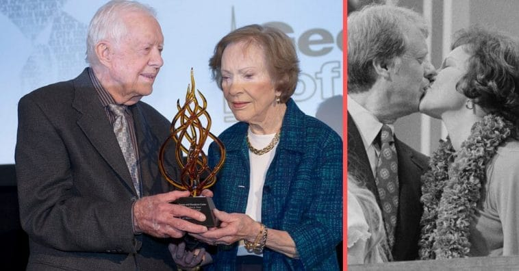 Jimmy and Rosalynn Carter have been married for 73 years