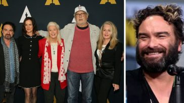 Johnny Galecki reunites with his Christmas Vacation co stars