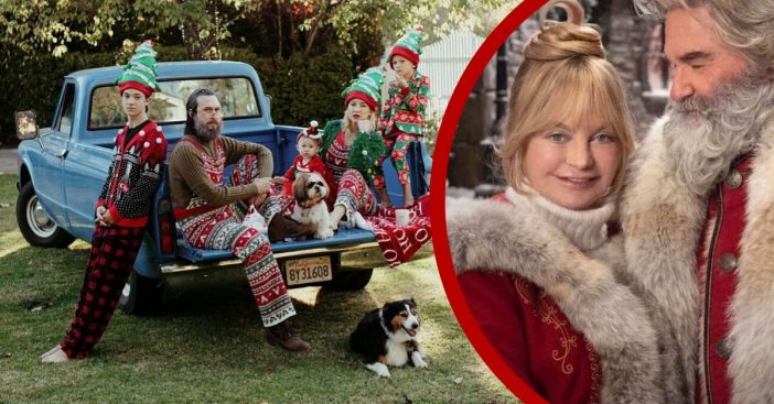 Kate Hudson and her whole family love getting into the Christmas spirit