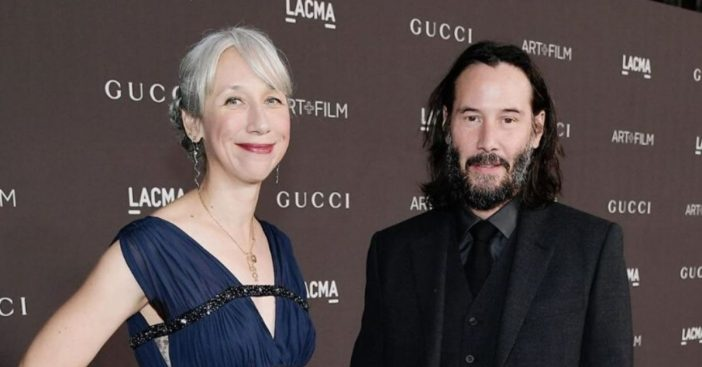 Keanu Reeves girlfriend Alexandra Grant explains why she let her hair go gray