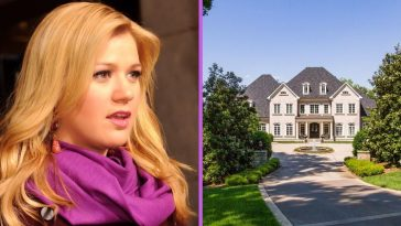Kelly Clarkson is selling her Tennessee mansion