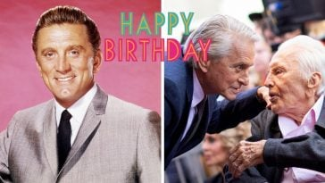 Kirk Douglas turned 103 years old today