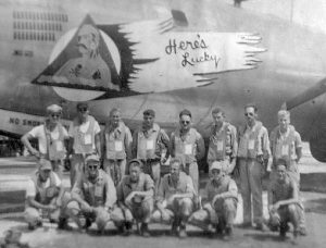 Koser flew a Superfortress