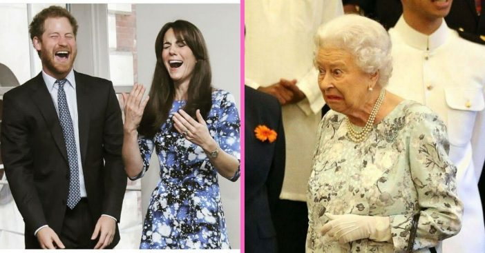 Learn more about the funny gag gifts the royal family gives to each other