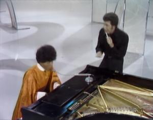 Little Richard and Tom Jones