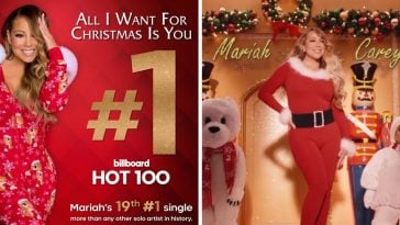 Mariah Carey releasing a new music video for All I Want for Christmas Is You