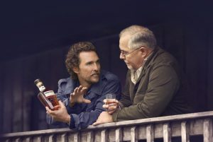 Matthew McConaughey works closely with Wild Turkey to get new drinkers into the bourbon