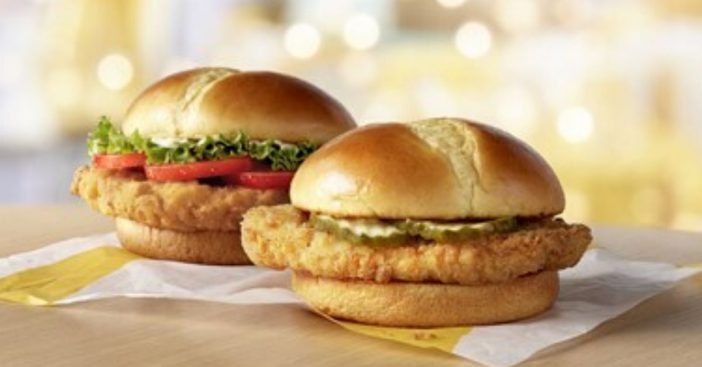 McDonalds is coming out with their own version of a crispy chicken sandwich