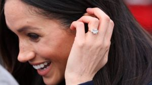 Meghan Markle's ring features a classic yet dazzling design with a lot of meaning