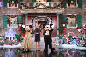 Mickey and friends join Vanna White for this year's Wheel of Fortune Secret Santa Giveaway