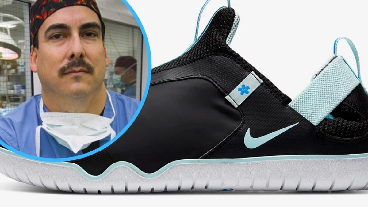 Nike Releases New Shoes For Doctors And