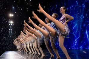 No performance is complete without those famous eye-high kicks