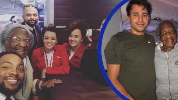 One man gave a stranger his first-class seat so her dream could come true