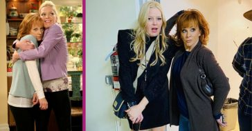 Reba McEntire Reunites With Melissa Peterman From The Show 'Reba'