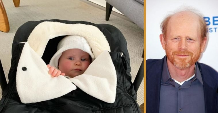 Ron Howard is a proud grandfather as his son shares baby photos