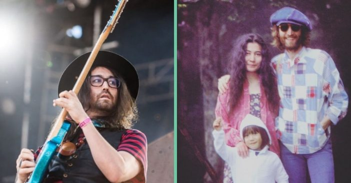 Sean Lennon posts a throwback photo on the anniversary of his fathers death