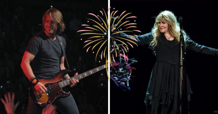 Stevie Nicks and Keith Urban will perform at Music City Midnight in Nashville