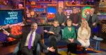 The Brady Bunch siblings answered questions on Watch What Happens Live