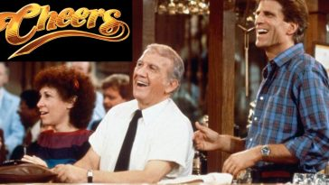 The 'Cheers' theme was almost very different